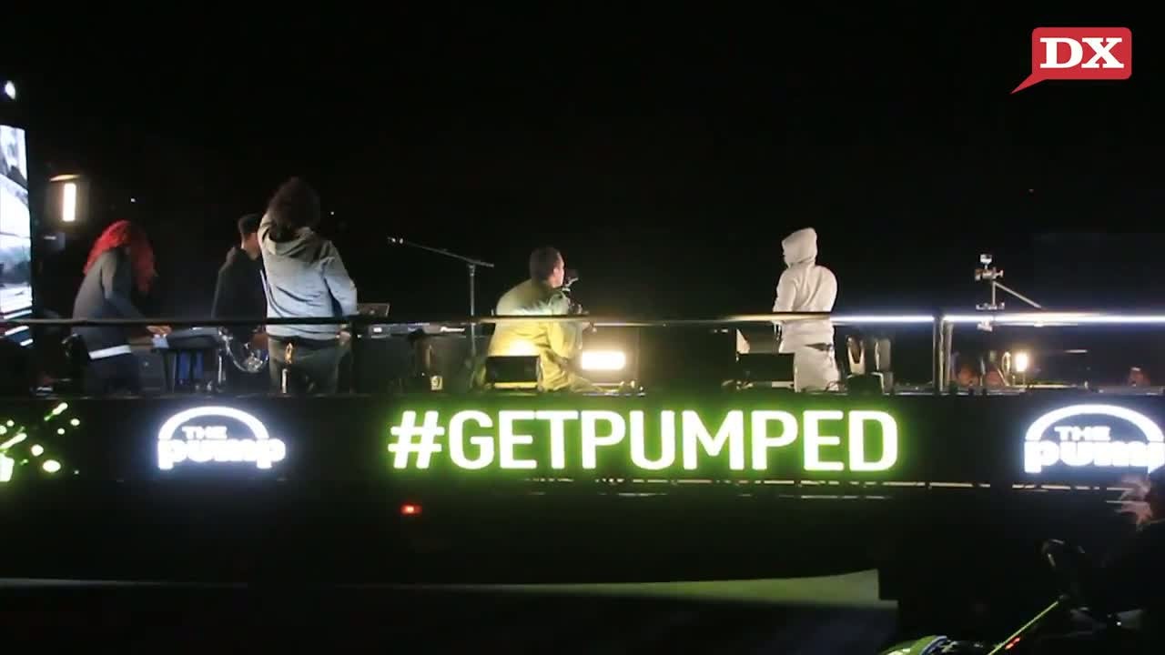 Kendrick Lamar's Surprise Concert On A Moving Truck In Hollywood; Performs 'Money Trees'
